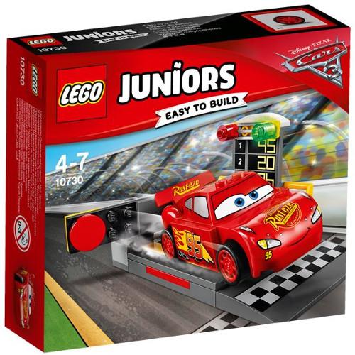 LEGO Juniors Lansatorul de Viteza Fulger McQueen 10730