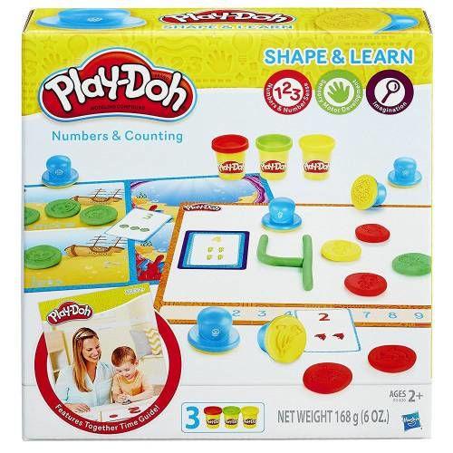 Hasbro Set Plastilina Play-Doh Forme si Numere
