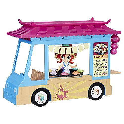 MLP Equestria Girls - Camionul cu Sushi