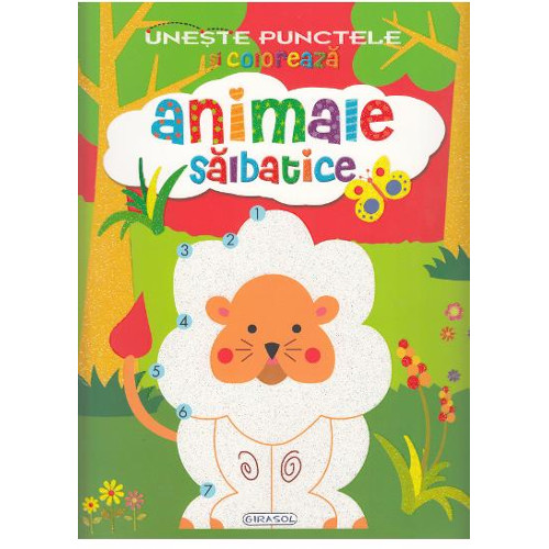 Editura Girasol Activitati – Uneste Punctele – Animale Salbatice