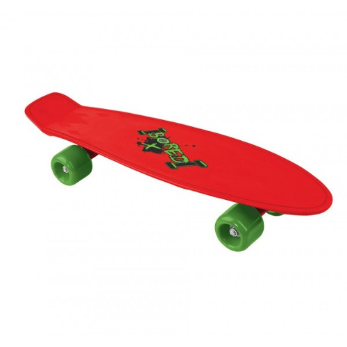 Skateboard Cruiserboard Red Bored 53 cm thumbnail