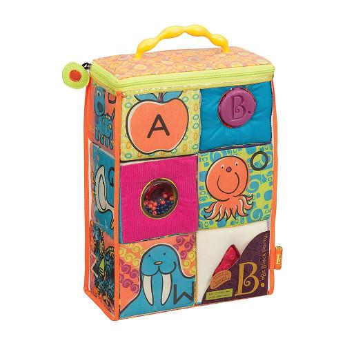 BToys Set 6 Cuburi Plus ABC