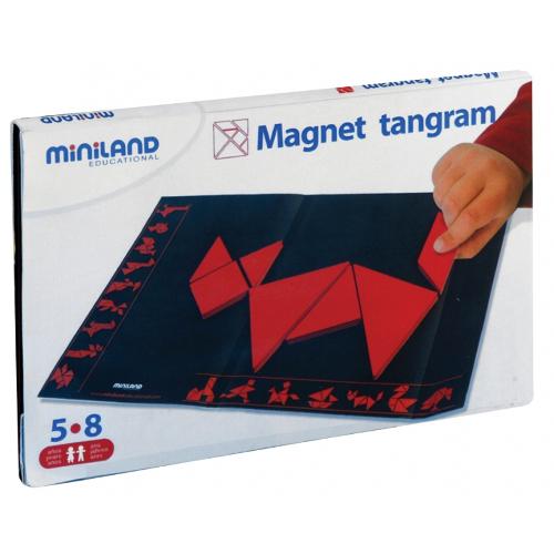 Joc Tangram Magnetic