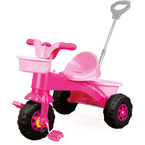 Dolu Tricicleta cu Maner Roz