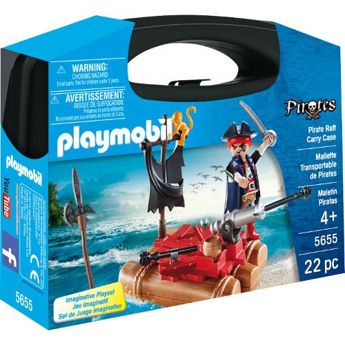 Playmobil Set Portabil – Pluta Piratilor