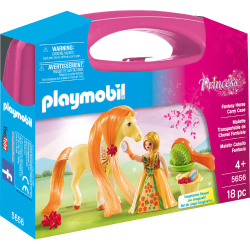 Playmobil Set Portabil – Printesa Si Calut