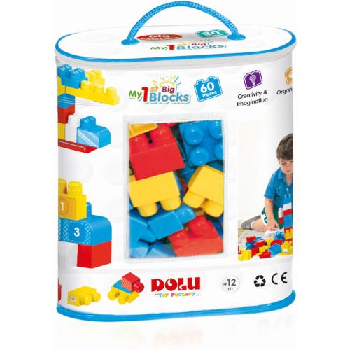 Dolu Primele Cuburi de Construit 60 Piese