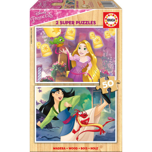 Puzzle Printesele Disney 2x50