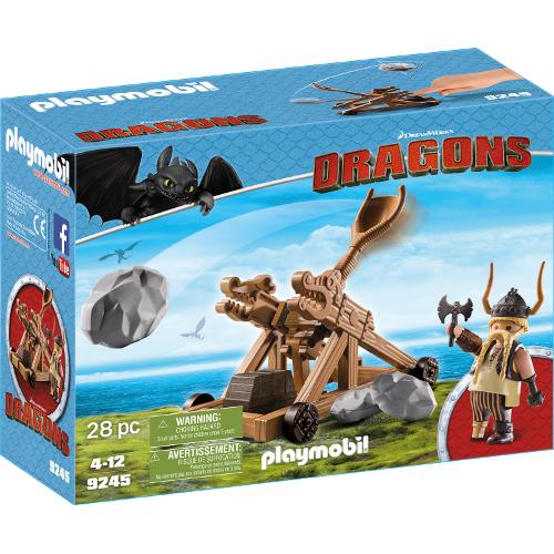 Dragons - Gobber cu Catapulta