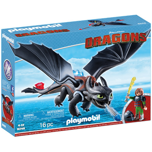Dragons - Hiccup Si Toothless