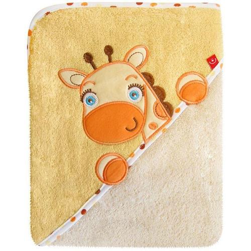 Prosop cu Capison 76x76 cm Girafa Crem