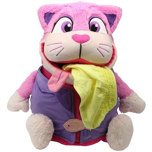 Jay At Play Mascota 2 in 1 Tummy Stuffers Pisica Roz
