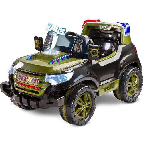 Vehicul Electric Patrol 2 x 6V cu Telecomanda