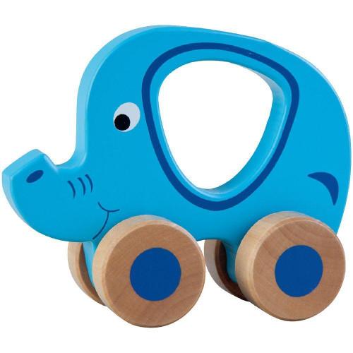 Jucarie pe Roti Elefant