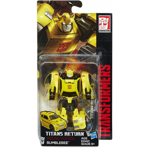 Figurina Transformers Titans Return Bumblebee