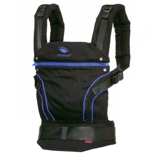 Marsupiu Ergonomic Organic BlackLine Absolute Blue