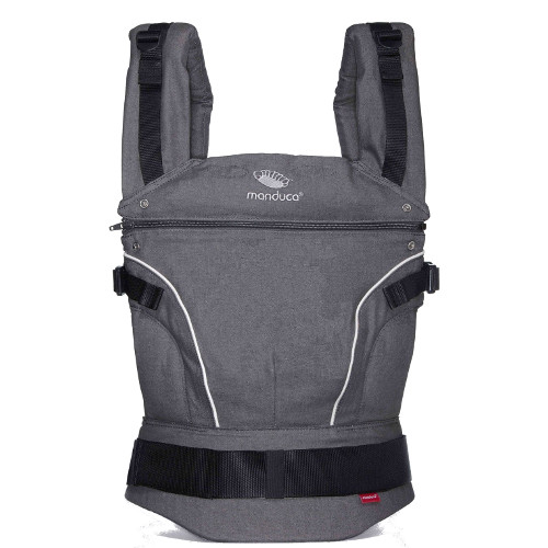 Marsupiu Ergonomic Pure Cotton Dark Grey