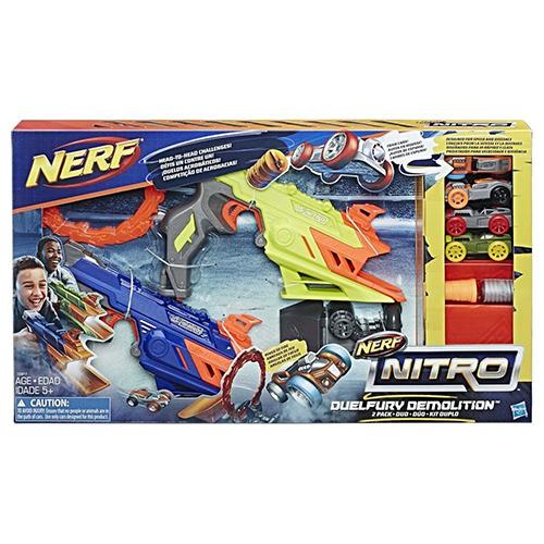 Jucarie Blaster Nerf Nitro DuelFury Demolition