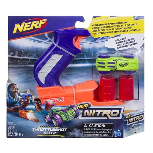 Jucarie Blaster Nerf Nitro ThrottleShot Blitz