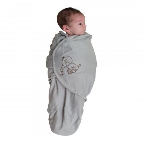 Body Special Tip Wrap Bo Jungle Elefant Gri S