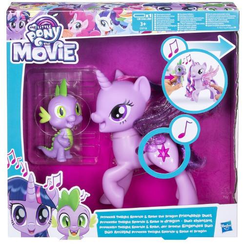 Set My Little Pony Princess Twilight Sparkle si Dragonul Spike