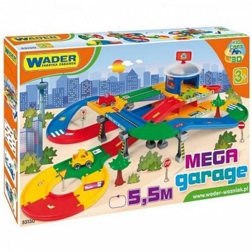 Kids Car 3D Mega Garaj cu o Lungime Pista 5.5