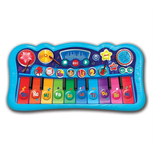 Mini Pian cu Taste Multicolore si Functie Inregistrare