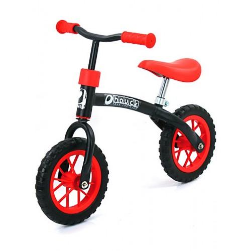 Hauck Bicicleta fara Pedale E-Z Rider 10 Black Red