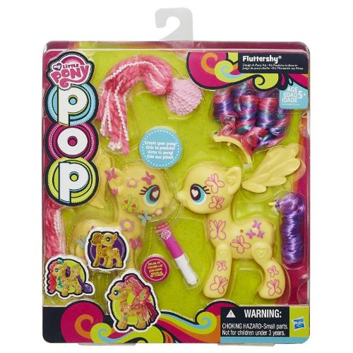 My Little Pony Figurina Mare de Asamblat Fluttershy thumbnail