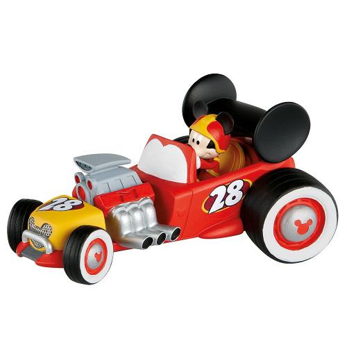 Figurina Mickey cu Masina - Mickey si Pilotii de Curse