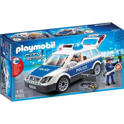 Set Playmobil City Action Police, Masina de Politie cu Lumina si Sunete