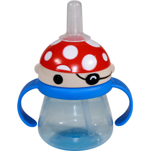Cana Printed Hood cu Pai si Manere Baby Care 250 ml