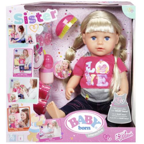 Baby Born Papusa Surioara Interactiva