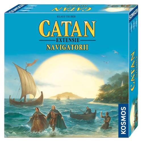 Colonistii din Catan -Extensie Navigatorii 3-4 Jucatori 2017