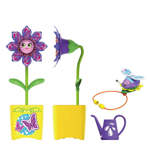 Set Floare Magic Bloom si Gandacel Ghiveci Galben