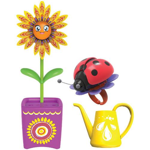 Set Floare Magic Bloom si Gandacel Ghiveci Mov