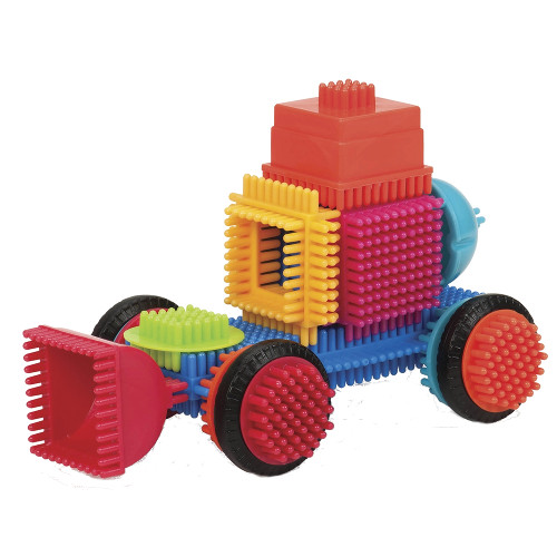 Bristle Blocks Set 80 Cuburi de Construit
