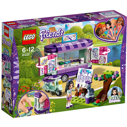 LEGO Friends Standul de arta al Emmei 41332