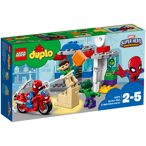 LEGO DUPLO Aventurile lui Spider-Man si Hulk 10876