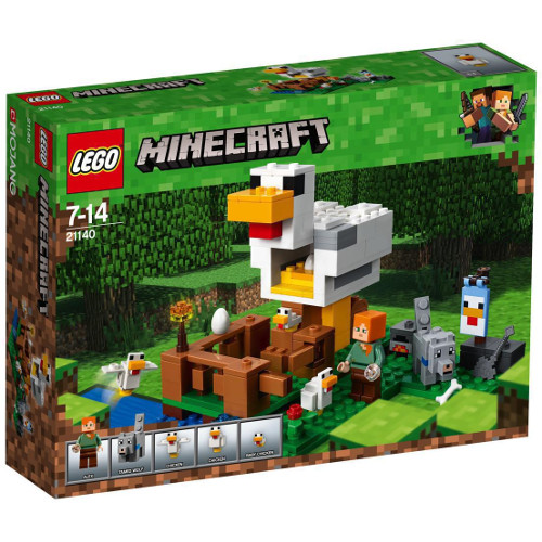 LEGO Minecraft Cotetul de Gaini 21140