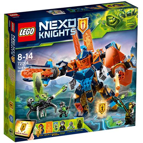 LEGO NEXO KNIGHTS Confruntarea cu Vrajitorul Robot 72004