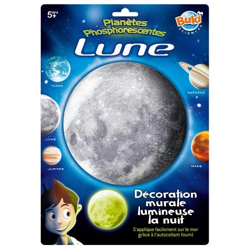 Buki France Decoratiuni de Perete Fosforescente – Luna