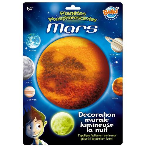 Buki France Decoratiuni de Perete Fosforescente – Marte