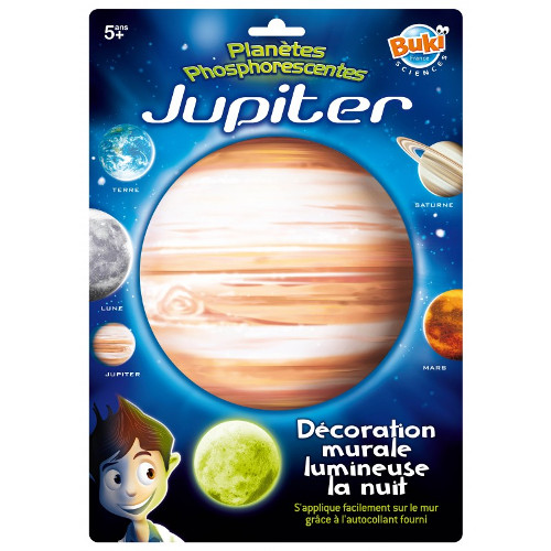 Buki France Decoratiuni de Perete Fosforescente – Jupiter