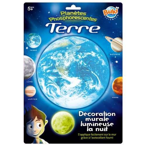 Buki France Decoratiuni de Perete Fosforescente – Terra