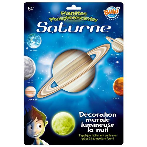 Buki France Decoratiuni de Perete Fosforescente – Saturn