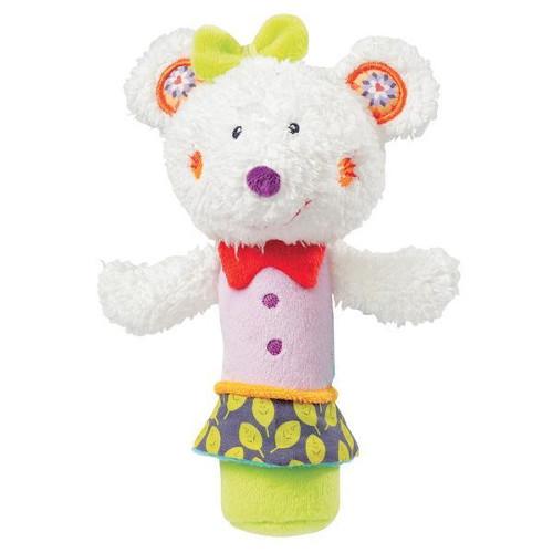 Brevi Soft Toys Jucaria Fosnitoare Popice Soricelul Fluo