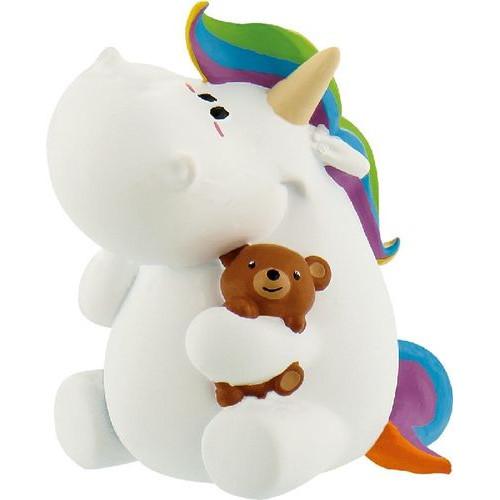 Figurina Unicornul Dolofan cu Ursulet