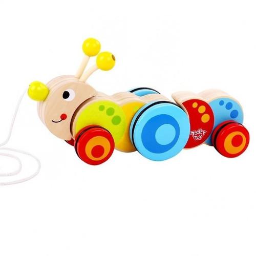 Tooky Toy Jucarie de Tras Omida