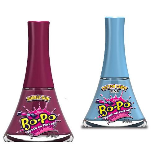 Bo-Po Set 2 Oje Cotton Candy si Bubble Gum
